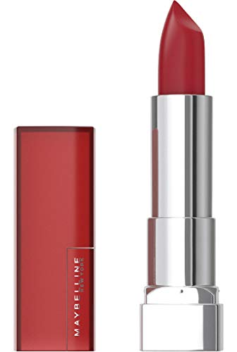 Maybelline New York Lippenstift Color Sensational Creamy Mattes 968 Rich Ruby, 1er Pack (1 x 25 g)