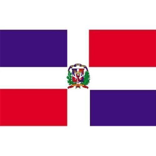 République Dominicaine - 5 ft x 3 ft Bannière drapeau avec Livraison gratuite au Royaume-Uni
