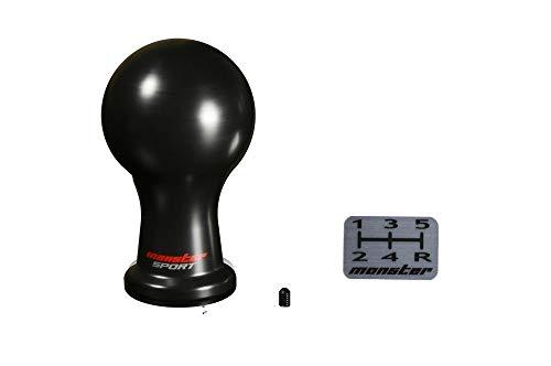 MONSTER SPORT シフトノブ Aタイプ (球型)/黒 差込タイプ アルトワークス HA36S他 MT車 831111-7350M
