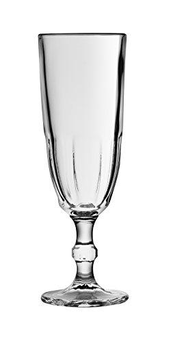 Bijzettafel 25371 Calice Fluit Glas 16 cl 5,5 x 5,5 x 17,5 cm (Pack van 6)