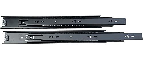 Guide a Estrazione Totale per Cassetti nere (250 mm)