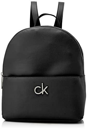 Calvin Klein Damen RE-LOCK, Ck Schwarz, Medium
