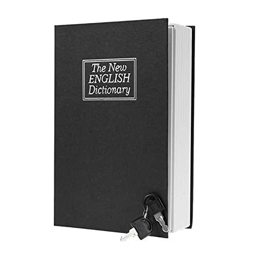 WWWL Hucha Creative English Dictionary Forma Dinero Ahorro de Dinero Caja Fuerte Libro Hucha con Llave Casas de Efectivo Cajas de Ahorro