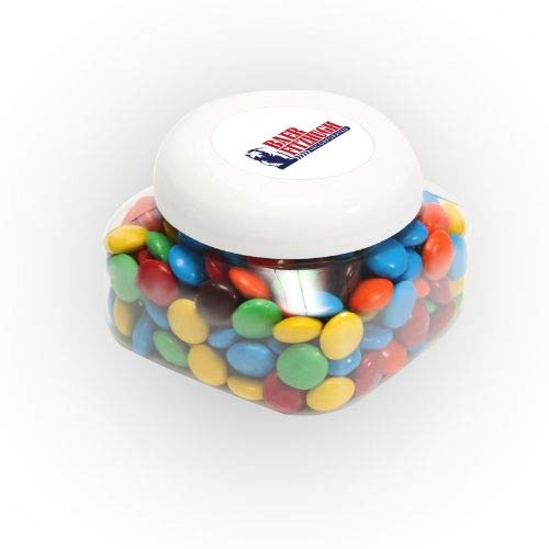 Discover Bargain M&Ms Plain in Lg Snack Canister