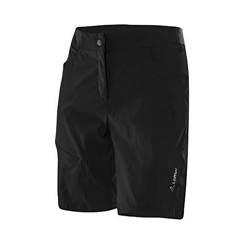 LÖFFLER Bike Shorts Comfort Stretch Light Damen - 23563 - Radshorts mit Sitzpolster