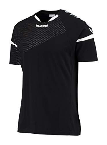 hummel Kinder Auth Charge SS Train Jersey T-Shirt, schwarz (Black), 164-176