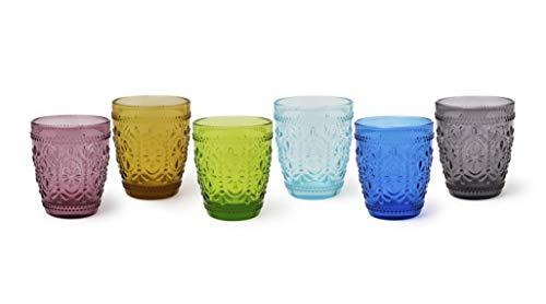 Excelsa Vinci - Juego de 6 vasos de agua, cristal