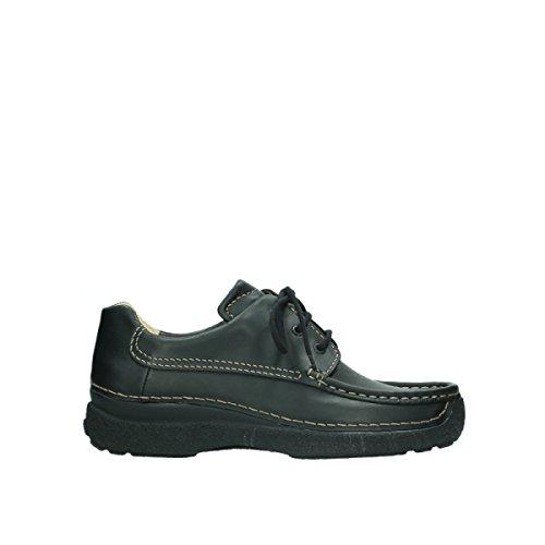Wolky Comfort Komfortschuhe Roll Shoe Men - 50000 schwarz Leder - 42