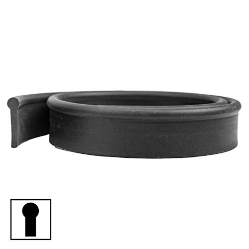 BlackDiamond Round Top Soft Squeegee Rubber 12 Pack - 20 Inch