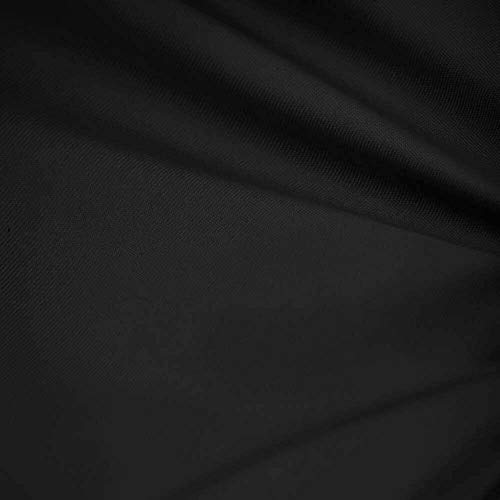 """60"""" Wide Premium 100% Cotton Fabric by The Yard (Black)"""