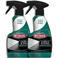 Weiman Disinfectant Granite Daily Clean & Shine - 12 fl oz (2 Pack) Safely Clean Disinfect and Shine Granite Marble Soapstone Quartz Quartzite Slate Limestone Corian Laminate Tile Countertop