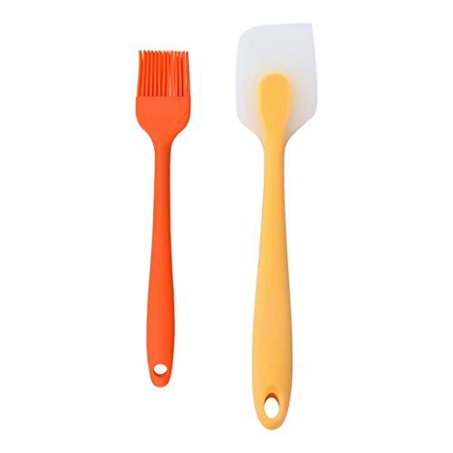Silikon-Spachtel und Pinsel-Set High Heat Resistant Backen-Werkzeuge Küche Silikonschaber Bürste for Kochen Backen Roasting Türkei Küchenwerkzeug GAGGE