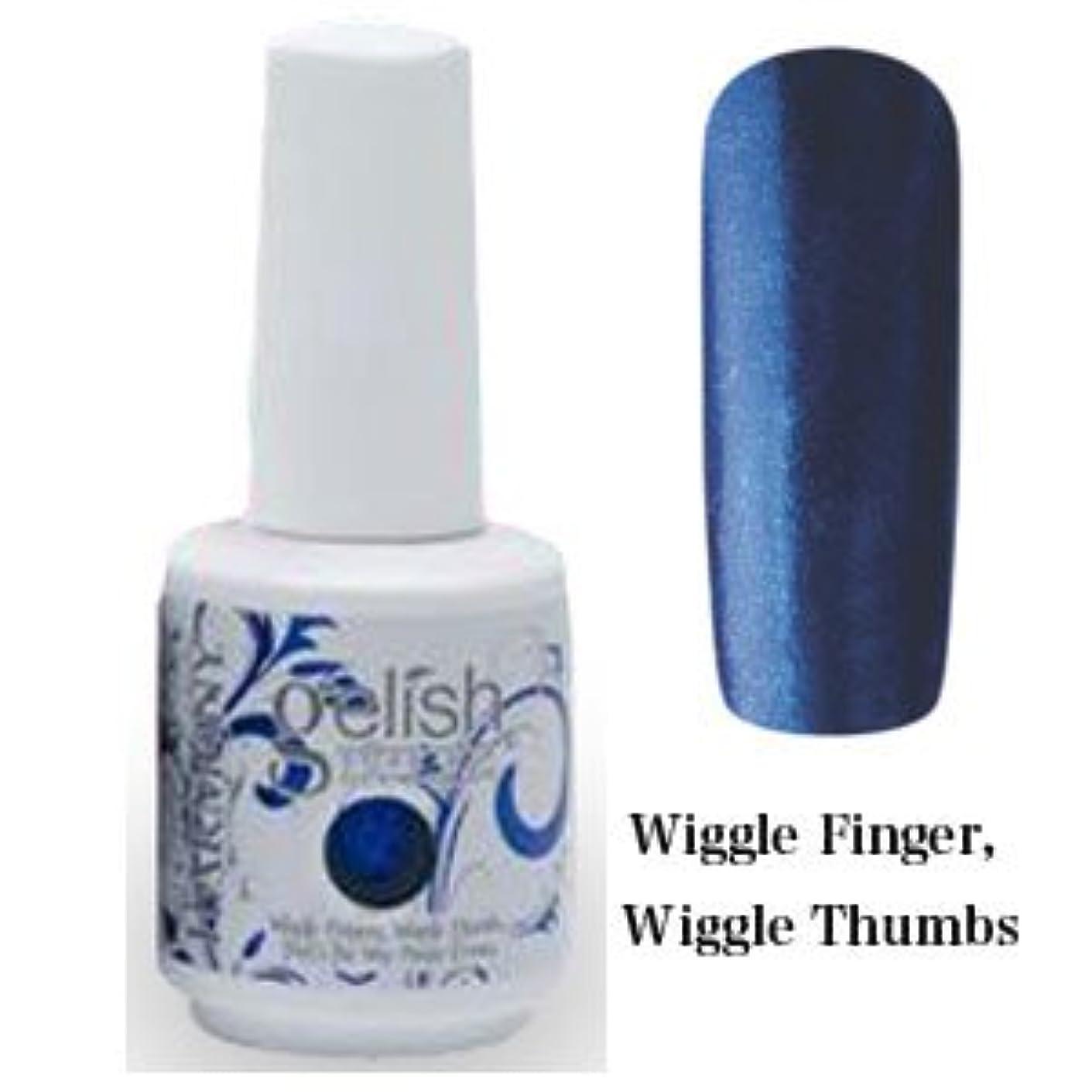 そのような調べる成人期Harmony gelishソークオフジェル-Wiggle Finger Wiggle Thumbs 15ml [海外直送品][並行輸入品]