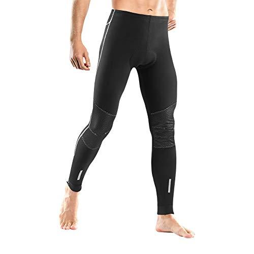 LAMEDA Pantaloni da Ciclismo Invernali Abbigliamento Sportivo Uomo per Ciclismo Fitness MTB Compressione Running,XXL
