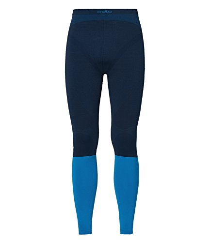 Odlo Evolution Warm Collant XL Directoire Blue