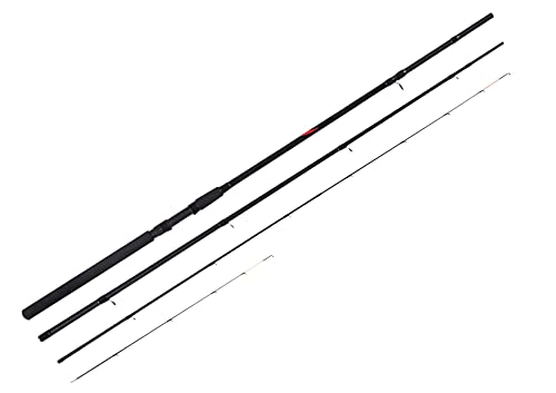 Silstar X PERFORMANCE FEEDER 11.5ft (4 to 8lb lines) 3 Piece Composite Quality Dual Fishing Rod -...