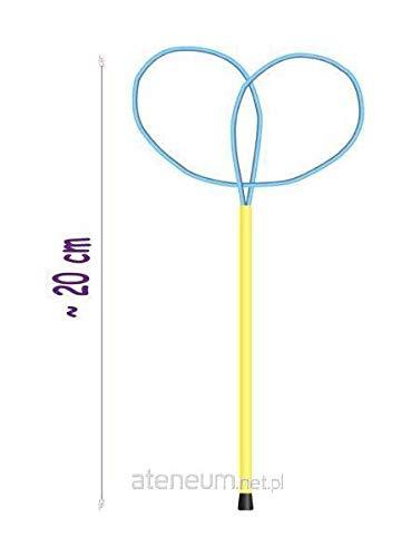 Tuban Bubbles World TU 3615 Seifenblasen-Ring, bildet kleine Schmetterlinge, bunt
