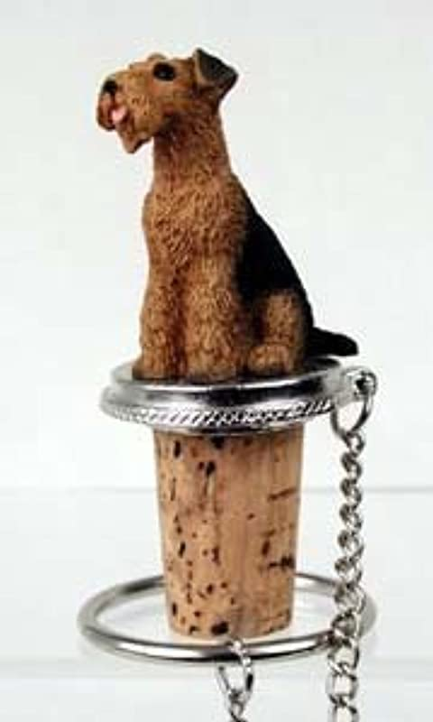Conversation Concepts Airedale Terrier Bottle Stopper
