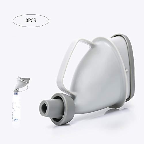 DODOBD Premium Urinal für Frauen I Kompakter Urinbeutel für unterwegs I Praktische Pinkelhilfe (3 Packs) (Frauenurinal)