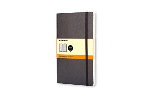 Moleskine Notizbuch, Large, A5, Liniert, Soft Cover, Schwarz