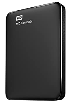 WD 1TB Elements Portable External Hard Drive HDD USB 3.0 Compatible with PC Mac PS4 & Xbox - WDBUZG0010BBK-WESN