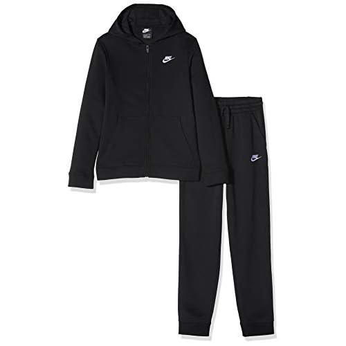 Nike Nsw Core Bf Survetements, T-shirt Bambino, Nero (010 Black/Black/White), (Taglia Produttore: X-Small)