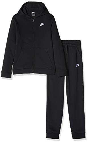 Nike Nsw Core Bf Survetements, T-shirt Bambino, Nero (010 Black/Black/White), (Taglia Produttore: Large)