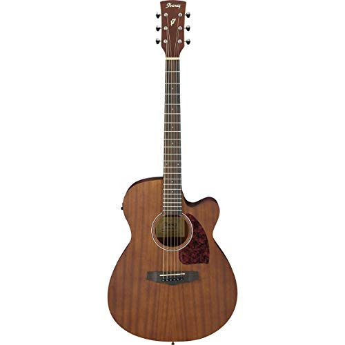 Ibanez Performance Series PC12MHCE Single-Cutaway Grand Concert Acoustic-Electric Guitar, Rosewood Fingerboard, Open Pore Natural