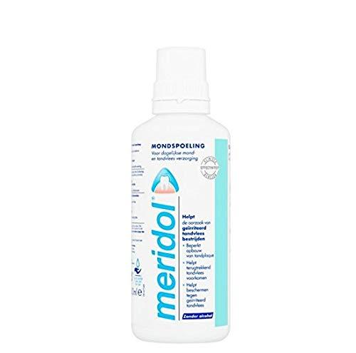 Meridol Mundwasser/Mundspülung - 6er Pack (6 x 400 ml)