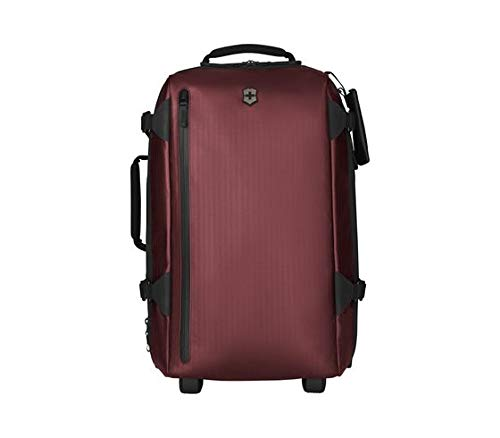 """Victorinox VX Touring 2-in-1 Softside Upright Luggage, Beetroot, Carry-On, Frequent Flyer (22.4"""")"""