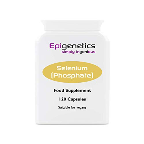 Selenium Phosphate | Sodium Selenate 100mcg & Adenosine Triphosphate 100mg | 120 Vegan Friendly Capsules UK Made |1 Capsule Daily (4 Month Supply)