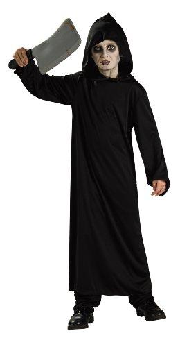 Halloween - Disfraz de Monje Negro del Infierno para niño, infantil 5-7 años (Rubie