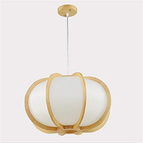CENPEN Lámparas colgantes Solid Wood Art calabaza Araña, restaurante restaurante estudio de la personalidad creativa de la lámpara