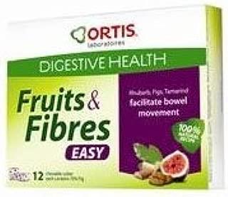 Ortis - Digestive Health - Fruits & Fibres - Easy - 120g