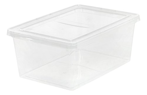 IRIS USA, Inc. CNL-17 17 Quart Non-Latching Box, Clear