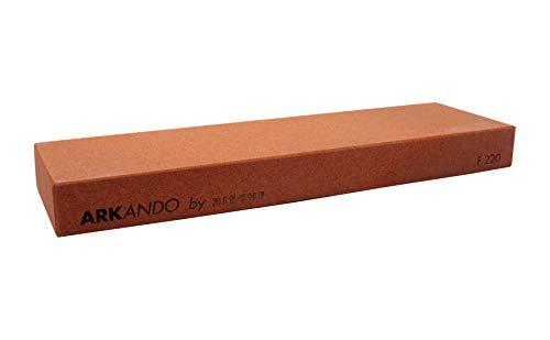 Zische Arkando Abziehstein, Körnung FEPA 220 (JIS 220), extra groß, 250 x 75 x 25 mm, Schleifstein