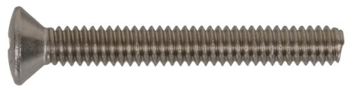The Hillman Group 44130 10-24 x 2-1/2-Inch Oval Head Phillips Machine Screw, Stainless Steel, 15-Pack