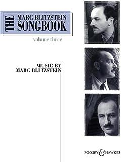 The Marc Blitzstein Songbook - Volume 3