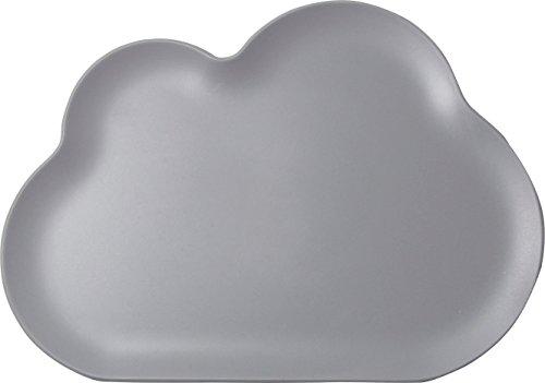 Qualy 5217095DG - Bandeja pequeña para la nube Tray, color gris oscuro