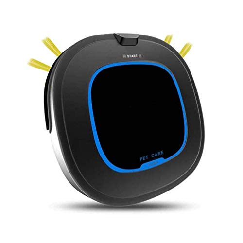 Fantastic Deal! Lfsp Indoor Smart Robotic Vacuum Cleaner, Self-Charging Four Kinds of Cleaning Mode Robotic Sweeper Cleaning Robotic with Anti-Fall and Crash Sensors, Suitable for Use On The Floor Carpet, Black