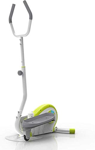 YANGYUAN Máquina elíptica Entrenador cruzado Interior Stepper Home Fitness Equipment silencioso Pérdida de peso Máquina Pequeño Mini Jogging Dormitorio Sala de estar en Place Stepper Sports Spurpipe M