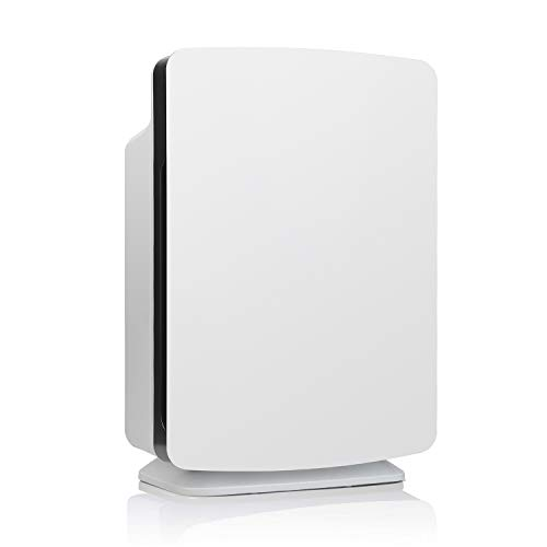 Alen BreatheSmart Classic Air Purifier for Large Rooms Up to 102 m?, HEPA Fliter with 99.97% Airborne Particle Rmoval, Captures Allergens, Mould, Pollen, Dust, Pet Odours, Smoke, VOCs, Chemicals.
