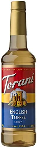 Torani Syrup English Toffee 25 4 Ounces product image