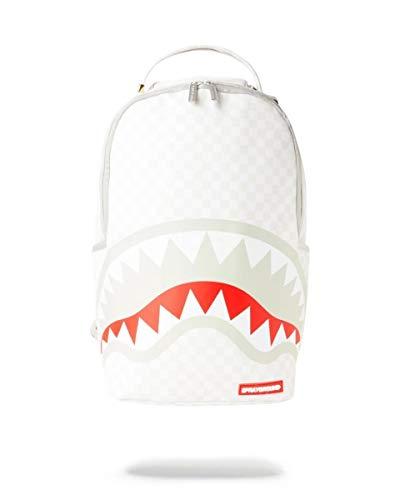 SPRAYGROUND | B2947NSZ Mean & Clean Check Shark In Paris Backpack - White White