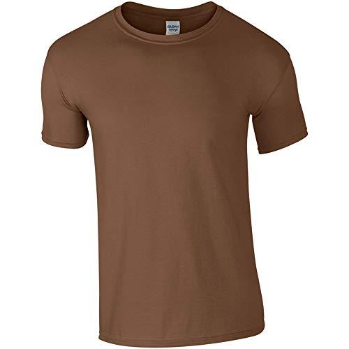 Gildan - Suave básica Camiseta de Manga Corta para Hombre -