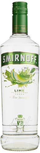 Smirnoff No. 21 vodka Triple Destilled Flavour Lime Wodka (1 x 0.7 l)