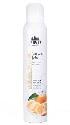 PINO Shower Me! Duschschaum - Mandarine Buttermilk (1x 200 ml)