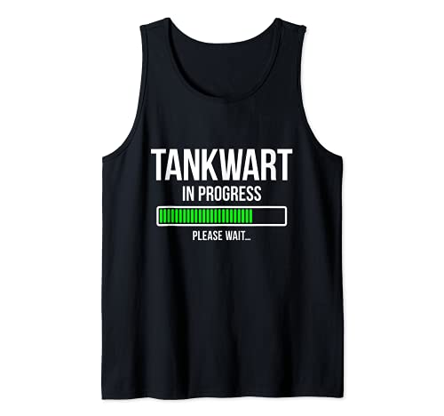 Herren Ausbildung Tankwart Tank Top