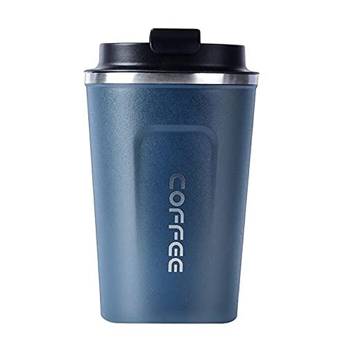 KIHL Taza Termo 380 ml / 510 ml Frascos de vacío de café de Acero Inoxidable Taza térmica de Viaje Botella de Agua portátil para Coche Taza térmica para Regalos