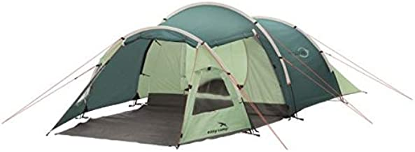 Easy Camp 3-Person Spirit 300 Tunnel Tent, Light/Dark Blue, 5709388080318